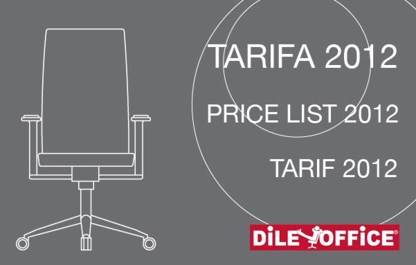 Dileoffice's 2012 Price List