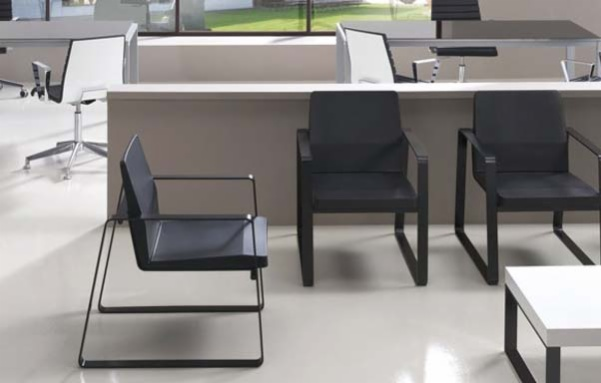 Calma, seating system for waiting areas.