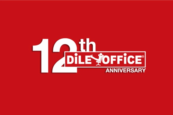 Dileoffice. Anniversary with meaning.