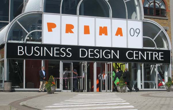 Dileoffice was the only spanish chair producer at London's PRIMA 09