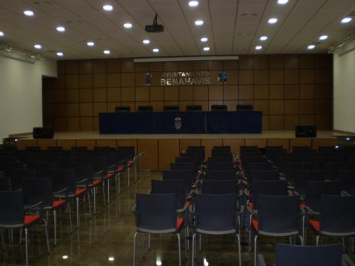 La Silla Atenea en el Ayuntamiento de Benahavís.