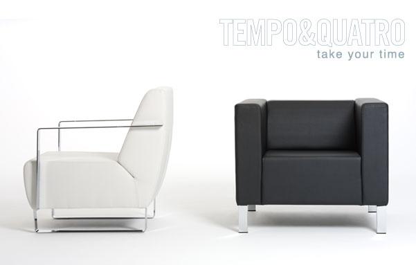 Tempo & Quatro: made for reception and rest areas